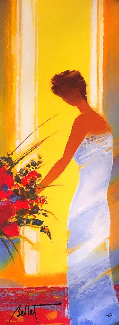 La Robe Bleue 2014 Limited Edition Print by Emile Bellet