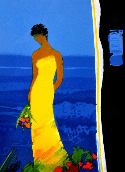 Untitled Portrait of a Woman AP Limited Edition Print by Emile Bellet
