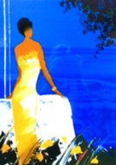 Bleu Couchant AP 2004 Limited Edition Print by Emile Bellet