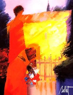 Jardin Street 2014 Limited Edition Print - Emile Bellet