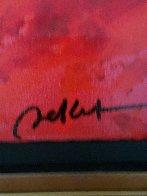 Notes Rouge 2012 Embellished Limited Edition Print by Emile Bellet - 4