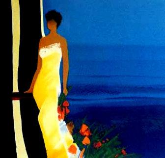 Instant Bleu AP 2001 Limited Edition Print - Emile Bellet