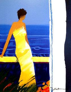 Docee a La Mer  PP 2004 Embellished Limited Edition Print - Emile Bellet