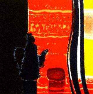 La Cafetiere Rouge 2005  Limited Edition Print - Emile Bellet