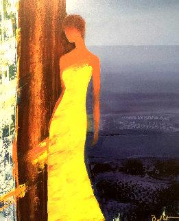 Fragrances Bleues 2006 Embellished Limited Edition Print - Emile Bellet