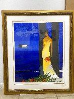 Bleu Couchant Limited Edition Print by Emile Bellet - 1