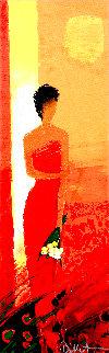 Et Rouge 2004 Embellished Limited Edition Print - Emile Bellet