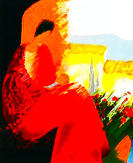 Maternite Rouge Limited Edition Print - Emile Bellet