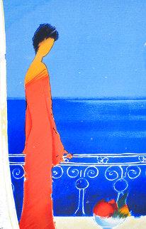 Serenite Bleue Limited Edition Print - Emile Bellet