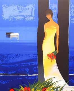 Bleu Couchant 2014 Limited Edition Print - Emile Bellet