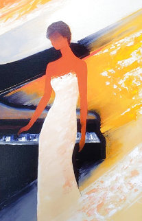 Piano AP 2012 Embellished Limited Edition Print - Emile Bellet