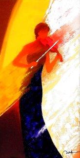 La Soliste 2012 Embellished Limited Edition Print - Emile Bellet