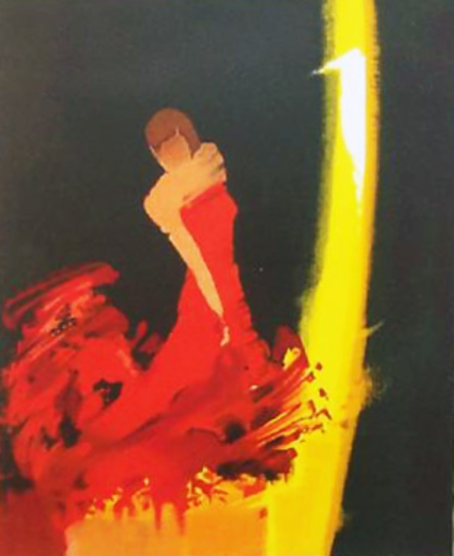 Andalousie Embellished 2006 Limited Edition Print by Emile Bellet