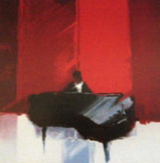 Melodie Rouge 2000 Embellished Limited Edition Print - Emile Bellet