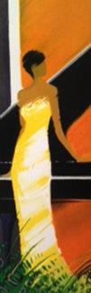 La Pianiste 2003 Embellished Limited Edition Print - Emile Bellet