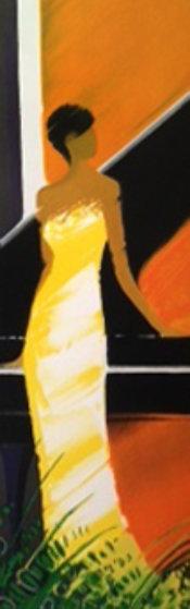 La Pianiste 2003 Embellished Limited Edition Print by Emile Bellet