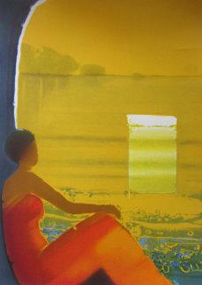 Heure Juane 2005 Embellished Limited Edition Print - Emile Bellet