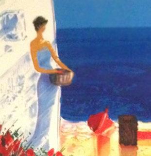 Chant Marin AP 2002 Embellished Limited Edition Print - Emile Bellet