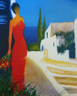 Parfum De Mediterranee 2006 Embellished Limited Edition Print by Emile Bellet
