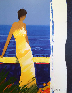 A Docee a La Mer 2004 Embellished Limited Edition Print by Emile Bellet