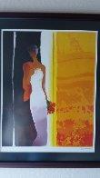 Promenade 2004 Embellished Limited Edition Print by Emile Bellet - 1