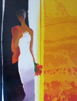 Promenade 2004 Embellished Limited Edition Print - Emile Bellet