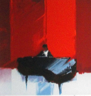 Melodie Rouge 2000 Limited Edition Print by Emile Bellet