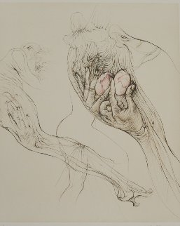 l'oeuf 1970 Limited Edition Print by Hans Bellmer