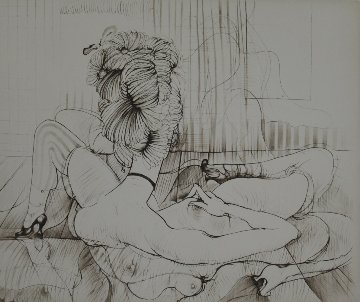 La Mieux Partagee 1960 Limited Edition Print by Hans Bellmer
