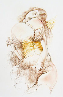 Jeune Fille Au Corps Re'versible 1970 Limited Edition Print by Hans Bellmer