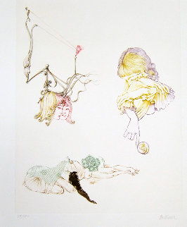 Donne Allo Specchio Series 1970 Limited Edition Print - Hans Bellmer