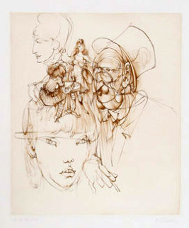 Untitled III 1972 Limited Edition Print by Hans Bellmer