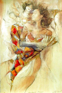 Harlequin Dance Limited Edition Print - Gary Benfield