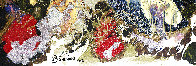 Liquid Moon 2002 59x47 Super Huge Original Painting by Philippe Benichou - 3
