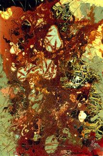 Arlette Oger 2002 36x24 Original Painting - Philippe Benichou