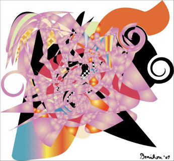 When Fun Was the Only Fashion 2011 32x35 Limited Edition Print by Philippe Benichou