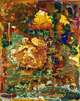 When Freedom Knocks 2010 Original Painting by Philippe Benichou