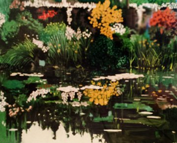 Monets Garden 1990 Limited Edition Print by Tony Bennett