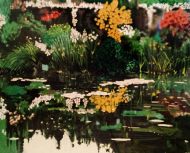 Monets' Garden 1990 Limited Edition Print by Tony Bennett