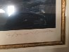 Greek Port with Remarque 1987 Limited Edition Print by Tony Bennett - 2