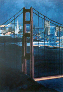 Golden Gate Bridge, San Francisco 1987 Limited Edition Print by Tony Bennett