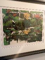 Golden Pavilion, Monet's Garden 1990 Limited Edition Print by Tony Bennett - 2
