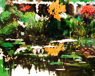 Golden Pavilion, Monet's Garden 1990 Limited Edition Print by Tony Bennett - 1