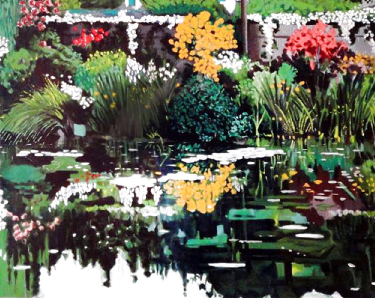 Golden Pavilion, Monet's Garden 1990 Limited Edition Print by Tony Bennett