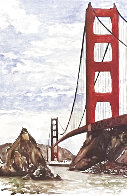 Golden Gate Bridge Limited Edition Print by Tony Bennett - 0