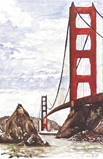 Golden Gate Bridge Limited Edition Print - Tony Bennett