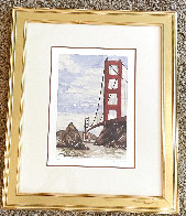 Golden Gate Bridge Limited Edition Print by Tony Bennett - 1