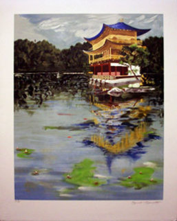 Golden Pavilion, PP Limited Edition Print by Tony Bennett