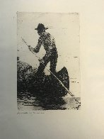 Riverman 1920 Limited Edition Print by Frank Weston Benson - 1