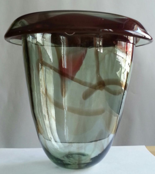 Untitled Early Glass Vase Sculpture 1978 Sculpture by Howard Ben Tre